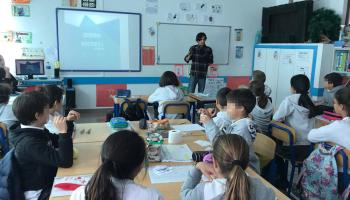 Formación a escolares en Madeira